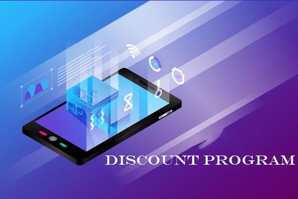Các chương trình giảm giá của paypal