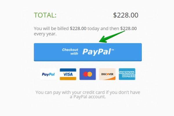 paypal thanh toán nhanh chóng