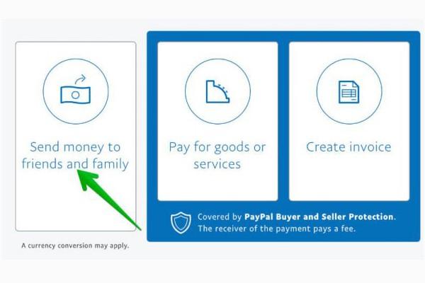 paypal nhận & chuyển tiền miễn phí