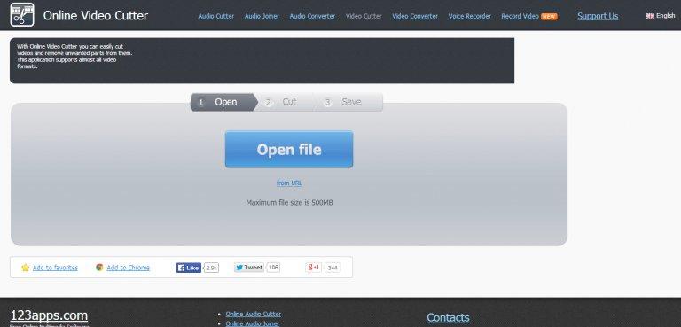 Online Video Cutter – website cắt ghép, chỉnh sửa video online tốt nhất