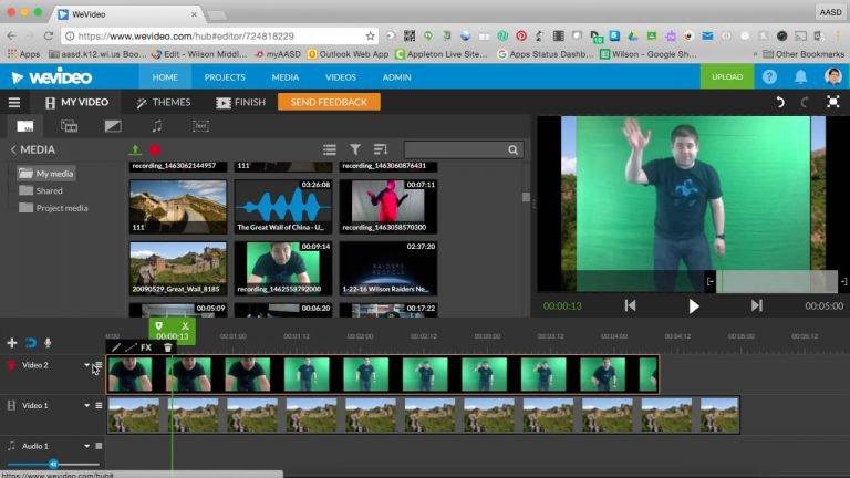 WeVideo – trang web cắt ghép, chỉnh sửa video online mạnh mẽ