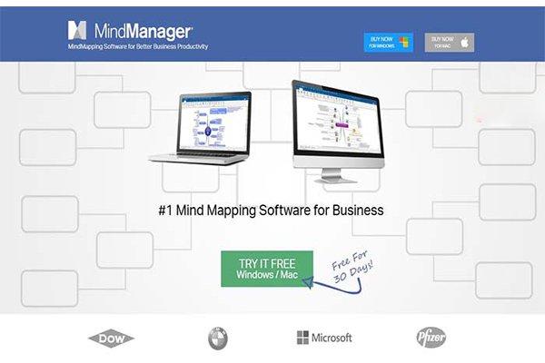 Tình năng Phần mềm mindjet mindmanager