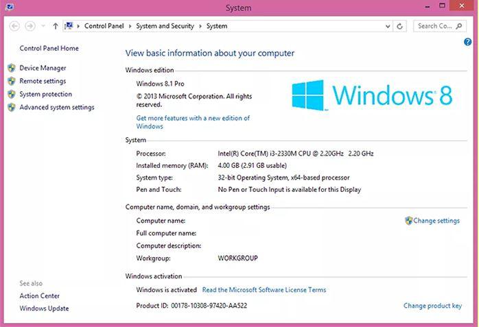 Windows đã active