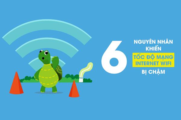 #7 Nguyên Nhân Mạng Wifi Bị Chậm Và Cách Khắc Phục