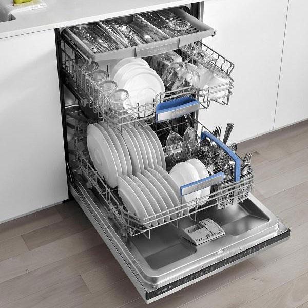 máy rửa bát rửa được nhiều bát đũa