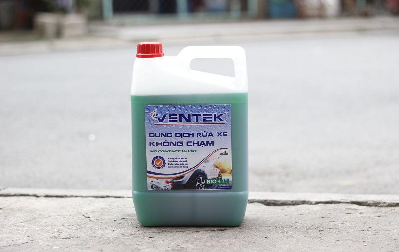 Dung dịch rửa xe của Ventek